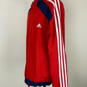 ADIDAS Bundle Set| Red, White and Blue Track Suit